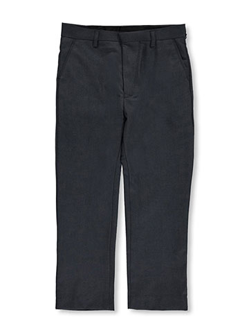 Vittorino Little Boys' Flat Front Slim Fit Dress Pants (Sizes 4 – 7) - CookiesKids.com
