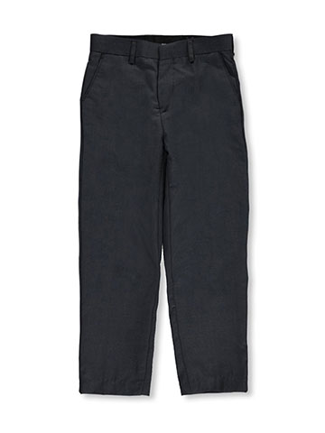 Vittorino Big Boys' Flat Front Slim Fit Dress Pants (Sizes 8 – 20) - CookiesKids.com