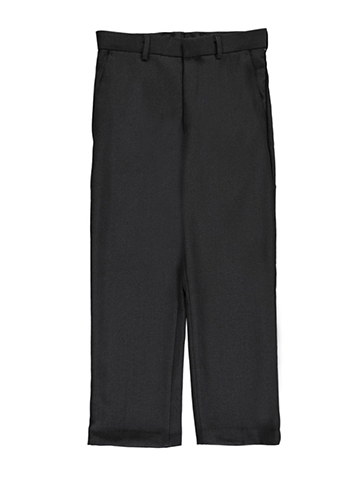 Vittorino Big Boys' Husky Flat Front Slim Fit Dress Pants (Sizes 10H – 20H) - CookiesKids.com