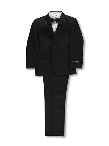 "Kids World Big Boys' ""Best-Dressed"" 5-Piece Suit (Sizes 8 – 20) - CookiesKids.com"