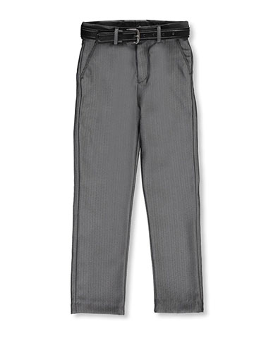 Alberto Danelli Little Boys' Belted Dress Pants (Sizes 4 – 7) - CookiesKids.com
