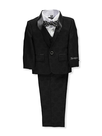 Kids World Baby Boys' 5-Piece Tuxedo - CookiesKids.com
