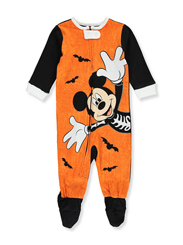 Mickey Mouse Baby Boys' Footed Coverall - CookiesKids.com
