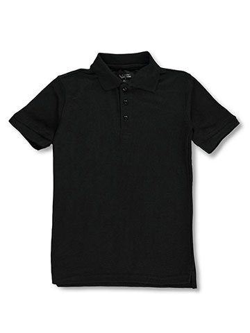 Classic School Uniform Boys' S/S Pique Polo - CookiesKids.com