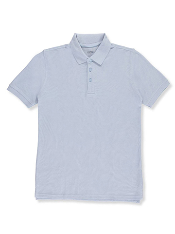 Classic School Uniform Big Boys' S/S Pique Polo (Sizes 8 – 20) - CookiesKids.com