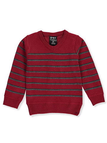 Faze 1 Little Boys' V-Neck Sweater (Sizes 4 – 7) - CookiesKids.com