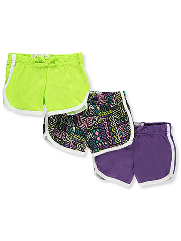 Pink Velvet Baby Girls' 3-Pack Shorts - CookiesKids.com