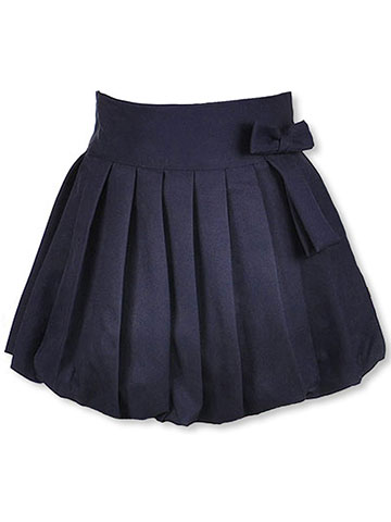"U.S. Polo Assn. Big Girls' ""Bubble Pleat"" Scooter Skirt (Sizes 7 – 16) - CookiesKids.com"