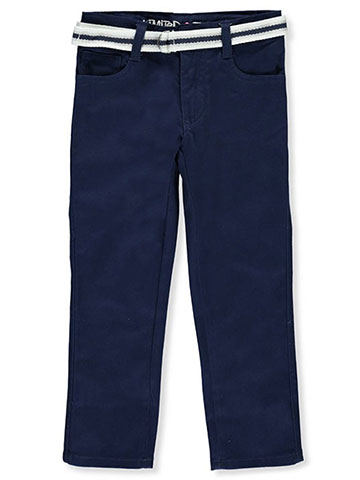 "Limited Too Little Girls' ""Essential Glam"" Belted Skinny Pants (Sizes 4 – 6X) - CookiesKids.com"