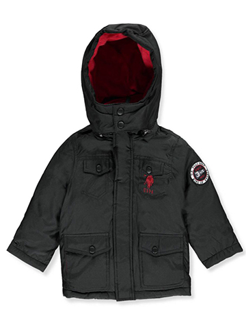 U.S. Polo Assn. Little Boys' Insulated Jacket (Sizes 4 – 7) - CookiesKids.com
