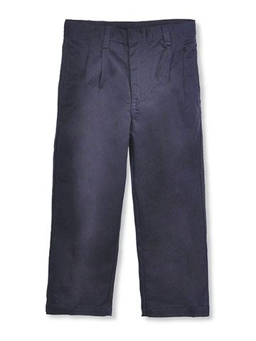 French Toast Little Boys' Pleated Wrinkle No More Double Knee Pants (Sizes 4 - 7) - CookiesKids.com