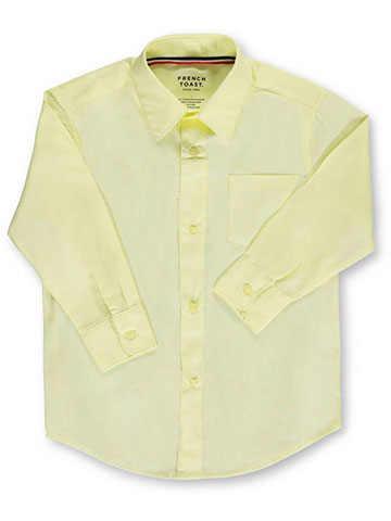 French Toast Unisex L/S Button-Down Shirt (Sizes 8 - 20) - CookiesKids.com