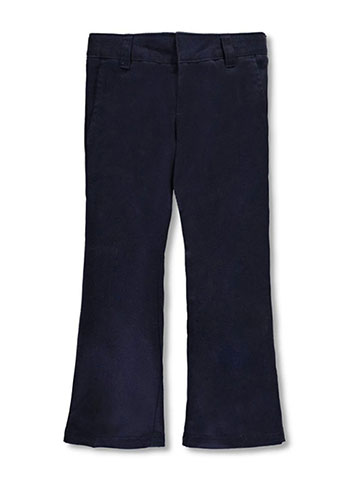 French Toast Girls' Flat Front Bootcut Pants - CookiesKids.com