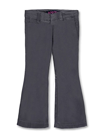 French Toast Little Girls' Flat Front Flare Pants (Sizes 4 - 6X) - CookiesKids.com