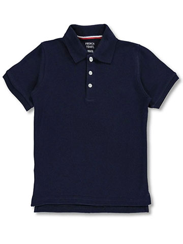 French Toast Big Boys' S/S Knit Polo Shirt (Sizes 8 – 20) - CookiesKids.com