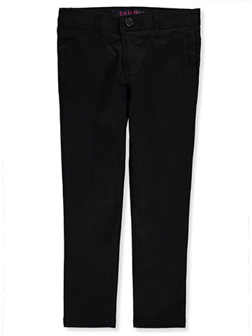 French Toast Girls' Stretch Twill Skinny Uniform Pants - CookiesKids.com