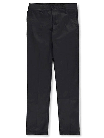 French Toast Big Girls' Stretch Twill Uniform Pants (Sizes 7 - 20) - CookiesKids.com