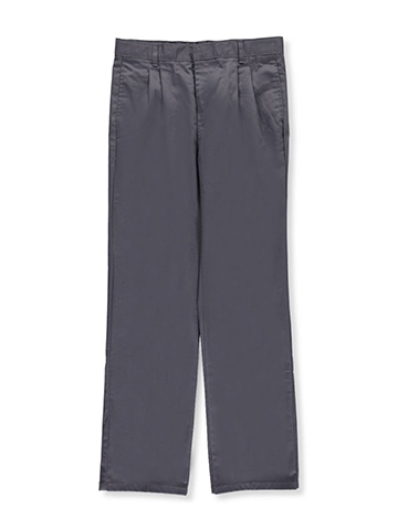 French Toast Boys Pleated Slim Fit Double Knee Pants (Sizes 8 – 20) - CookiesKids.com