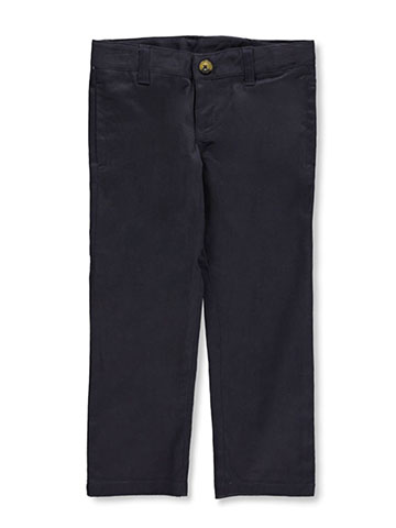 Lee Uniforms Little Girls' Original Straight Leg Pants (Sizes 4 - 6X) - CookiesKids.com