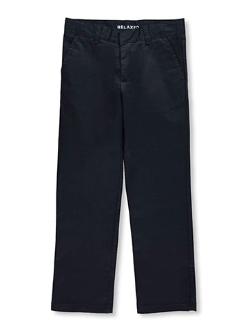 French Toast Big Boys' Wrinkle No More Relaxed Fit Pants (Sizes 8 – 20) - CookiesKids.com