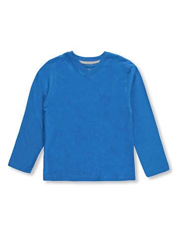 French Toast Boys' L/S V-Neck T-Shirt - CookiesKids.com