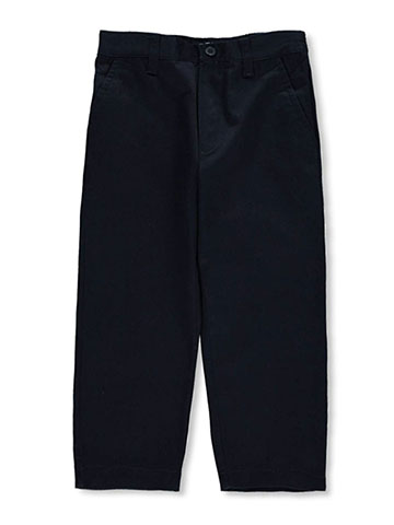 French Toast Little Boys' Toddler Pleated Wrinkle No More Relaxed Fit Pants (Sizes 2T – 4T) - CookiesKids.com