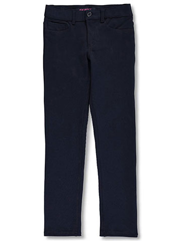 French Toast Big Girls' Pointelle Jegging Skinny Pants (Sizes 7 – 20) - CookiesKids.com