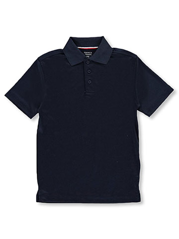 French Toast Little Boys' Moisture Wicking Performance Polo (Sizes 4 – 7) - CookiesKids.com