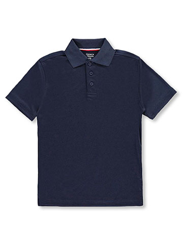 French Toast Big Boys' Moisture Wicking Performance Polo (Sizes 8 – 20) - CookiesKids.com