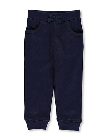 French Toast Little Girls' Toddler Fleece Joggers (Sizes 2T – 4T) - CookiesKids.com