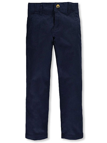 French Toast Little Boys' Twill Straight Fit Chino Pants (Sizes 4 – 7) - CookiesKids.com