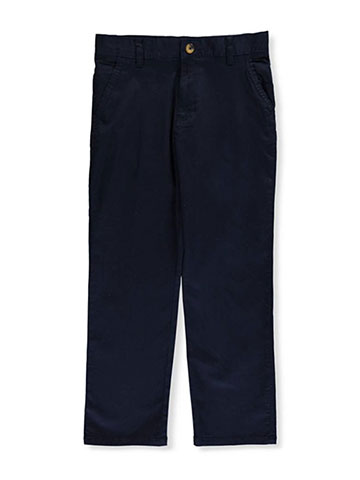 French Toast Big Boys' Twill Straight Fit Chino Pants (Sizes 8 – 20) - CookiesKids.com