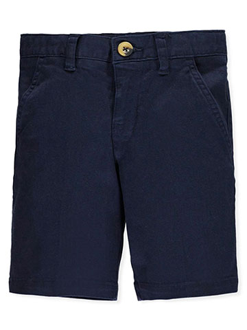 French Toast Little Boys' Flat Front Stretch Twill Shorts (Sizes 4 – 7) - CookiesKids.com