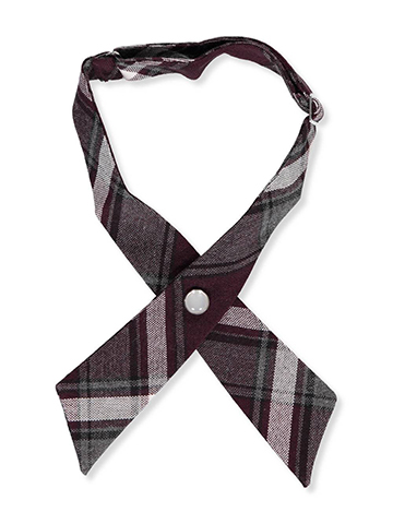 French Toast Girls' Plaid Woven Neckband - CookiesKids.com