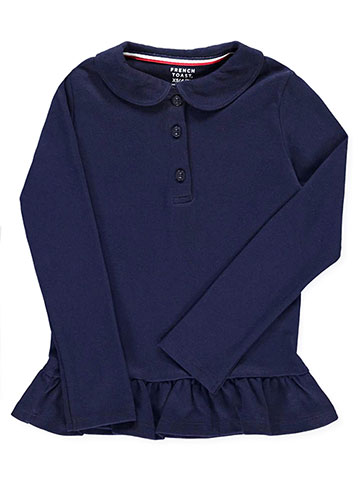 French Toast Girls' L/S Top - CookiesKids.com