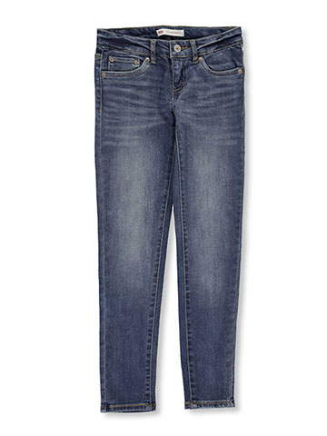 Levi's Big Girls' 710 Super Skinny Jeans (Sizes 7 – 16) - CookiesKids.com