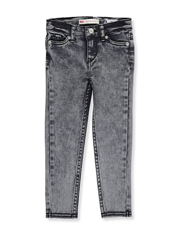 Levi's Little Girls' Toddler 710 Super Skinny Jeans (Sizes 2T – 4T) - CookiesKids.com