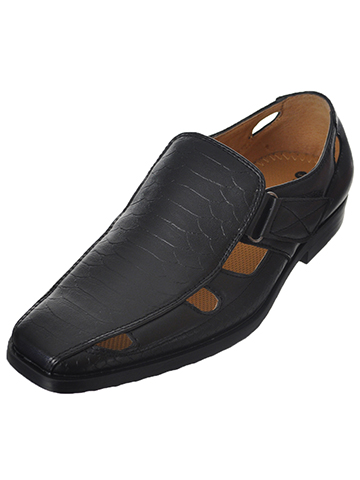 "Easy Strider Boys' ""Vaughn"" Dress Shoes (Youth Sizes 13 – 7) - CookiesKids.com"