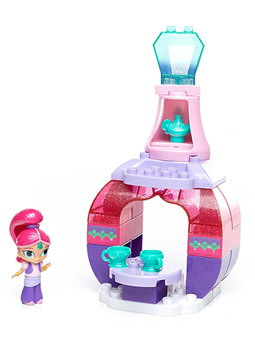 Mega Bloks Shimmer and Shine Genie Palace Bottle Shimmer Tea Party Building Set - CookiesKids.com