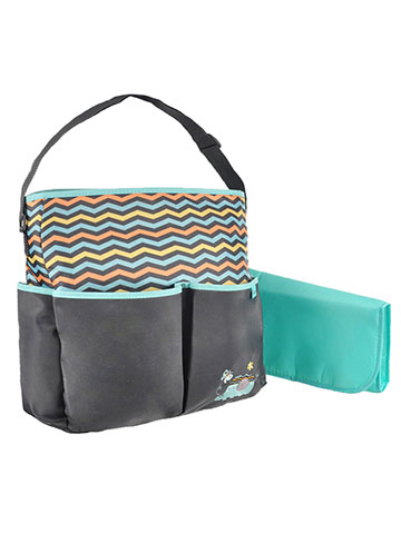 "Babyboom ""Elephant & Bee"" Diaper Tote Bag with Changing Pad - CookiesKids.com"