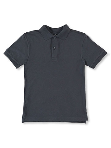 Nautica Big Boys' S/S Pique Polo (Sizes 8 - 20) - CookiesKids.com