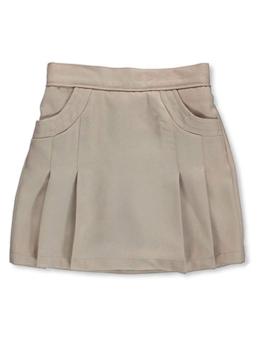 "Nautica Little Girls' ""Stitched Pocket"" Scooter Skirt (Sizes 4 – 6X) - CookiesKids.com"