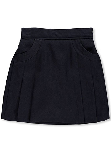 "Nautica Big Girls' ""Stitched Pocket"" Scooter Skirt (Sizes 7 – 16) - CookiesKids.com"