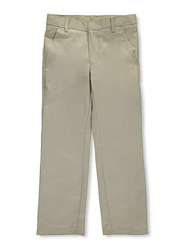 Nautica Big Boys' Flat Front Twill Pants (Sizes 8 – 20) - CookiesKids.com