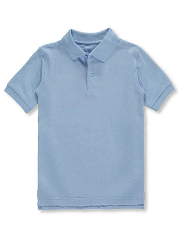 Nautica Big Boys' School Uniform Pique Polo (Sizes 8 – 20) - CookiesKids.com