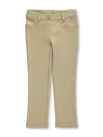 "Nautica Little Girls' ""Skinny Stretch"" Jeggings (Sizes 4 – 6X) - CookiesKids.com"