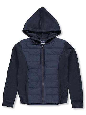 Nautica Big Girls' Quilted Hooded Jacket (Sizes 7 – 16) - CookiesKids.com