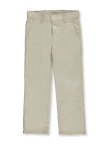 Nautica Big Boys' Flat Front Pants (Sizes 8 – 20) - CookiesKids.com