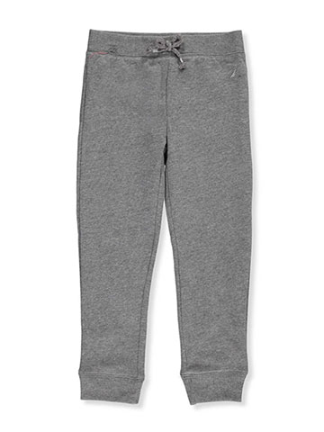 Nautica Little Girls' Fleece Joggers (Sizes 4 – 6X) - CookiesKids.com
