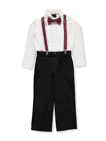 Nautica Little Boys' 4-Piece Outfit (Sizes 4 – 7) - CookiesKids.com